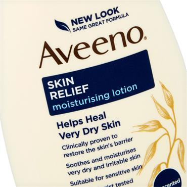 AVEENO SKIN RELIEF MOISTURISING LOTION UNSCENTED 300ML