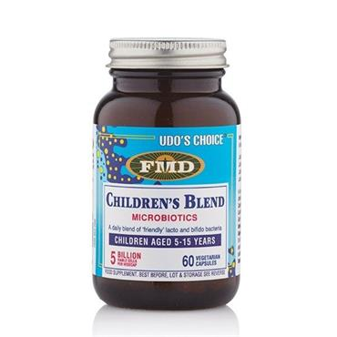 UDOS CHOICE CHILDRENS BLEND MICROBIOTICS 60 CAPSULES