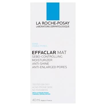 LA ROCHE-POSAY EFFACLAR MAT ANTI-SHINE MOISTURISER 40ML