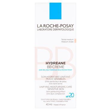 LA ROCHE-POSAY HYDREANE BB CREME MEDIUM SPF 20