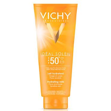 VICHY CAPITAL IDEAL SOLEIL F50 FACE AND BODY MILK