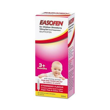 EASOFEN FOR CHILDREN STRAWBERRY 200ML