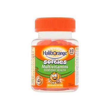 HALIBORANGE HALIBORANGE SOFTIES MULTIVITAMIN FRUIT SOFTIE ORANGE 30 PACK