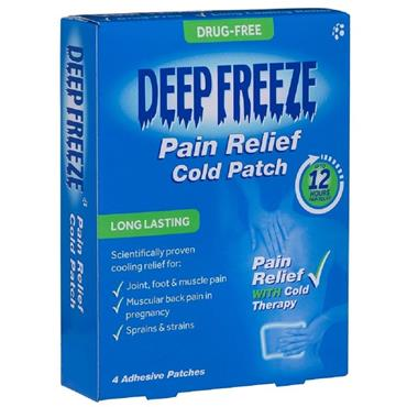 DEEP FREEZE COLD PATCH 4 PATCHES