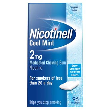 NICOTINELL GUM COOL MINT 2MG96
