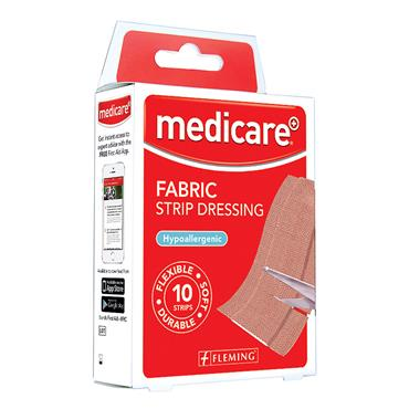 MEDICARE FABRIC STRIP DRE10X6