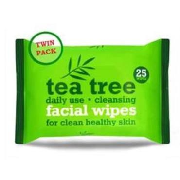 TEA TREE WIPES TWINPACK