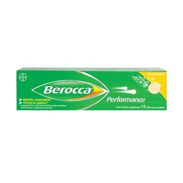 BEROCCA MANGO 15 TABS
