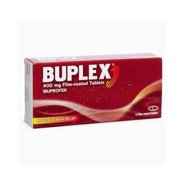 BUPLEX IBUPROFEN 400MG 24 TABLETS