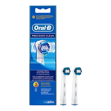 ORAL B PRECISION CLEAN REPLACEMENT BRUSH HEADS