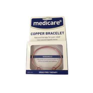 MEDICARE COPPER BRACELET BIOBANGLE MEDIUM/LARGE
