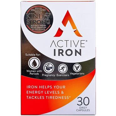 ACTIVE IRON CAPSULES (30 PACK)