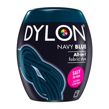 DYLON ALL IN 1 FABRIC DYE POD NAVY BLUE 350G