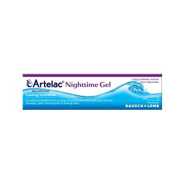 ARTELAC NIGHT TIME EYE GEL 10G