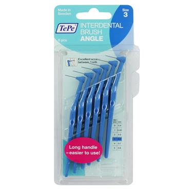 TEPE ANGLE INTERDENTAL S3 BLUE