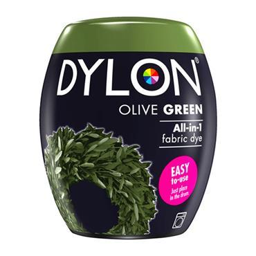 DYLON ALL IN 1 FABRIC DYE POD OLIVE GREEN 350G