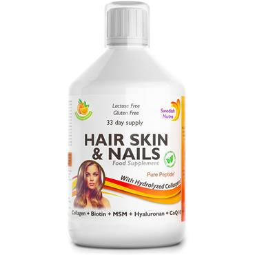 SWEDISH NUTRA SWEDISH NUTRA HAIR SKIN & NAILS