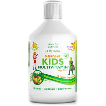 SWEDISH NUTRA SWEDISH NUTRA SUPER KIDS MULTIVITAMIN 500ML