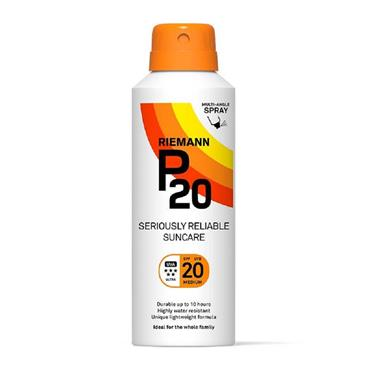 RIEMANN P20 SPRAY SPF 20 MEDIUM 150ML