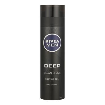 NIVEA FOR MEN DEEP CLEAN SHAVE CHARCOAL