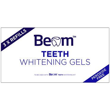 BEAM TEETH WHITENING GELS REFILLS 3 PACK