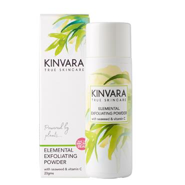 KINVARA ELEMENTAL EXFOLIATING POWDER WITH SEAWEED & VITAMIN C 20G