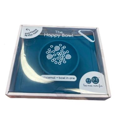 EZPZ HAPPY BOWL BLUE