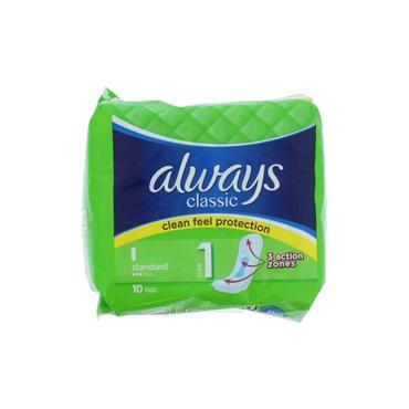 ALWAYS CLEAN FEEL CLASS S1 10