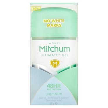 MITCHUM WOMEN ULTIMATE CLEAR GEL UNSCENTED