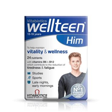 VITABIOTICS VITABIOTICS WELLTEEN HIM 30 TABLETS
