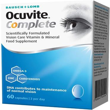 OCUVITE COMPLETE 60 CAPSULES