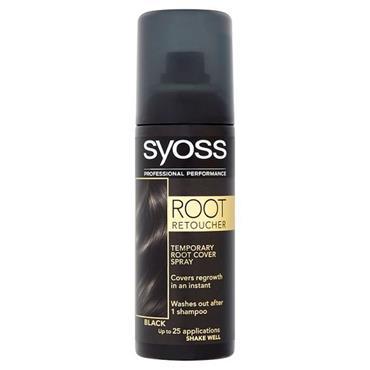 SYOSS ROOT RETOUCHER BLACK 120ML