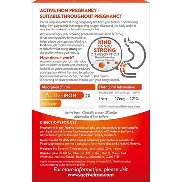 ACTIVE IRON PREGNANCY 30 CAPSULES