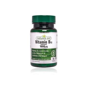 NATURES AID VITAMIN B12 TABLETS