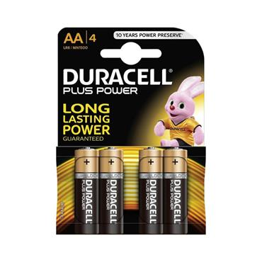 DURACELL AA 4 PACK MN 1599