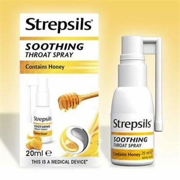 STREPSILS SOOTHING THROAT SPRAY