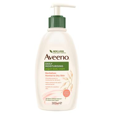 AVEENO YOGURT APR  HON 300 ML
