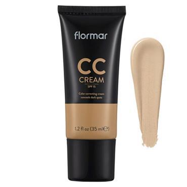 FLORMAR CC CREAM SPF 20 CONCEALS DARK SPOTS