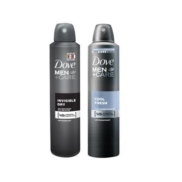 DOVE MEN +CARE COOL FRESH & INVISIBLE DRY ANTI-PERSPIRANT TWIN PACK