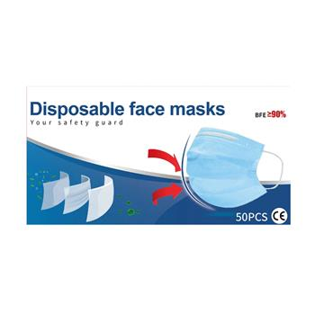 SURGICAL MASK PACK OF 50
