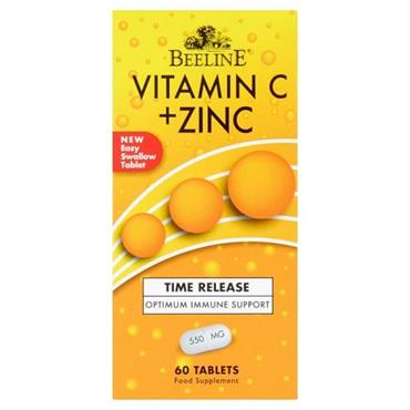 BEELINE VITAMIN C & ZINC 60 TABLETS