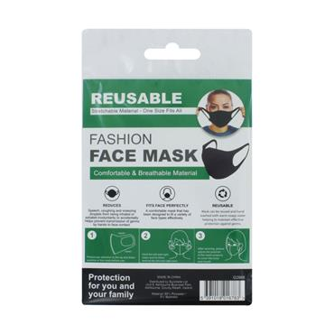 REUSABLE FASHION FACEMASK