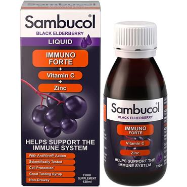 SAMBUCOL IMMUNO FORTE BLACK ELDERBERRY LIQUID