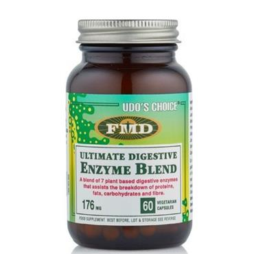 UDOS CHOICE ULTIMATE DIGESTIVE ENZYME BLEND 60 CAPSULES