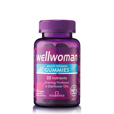 VITABIOTICS VITABIOTICS WELLWOMAN MULTIVITAMIN VEGAN GUMMIES 60S