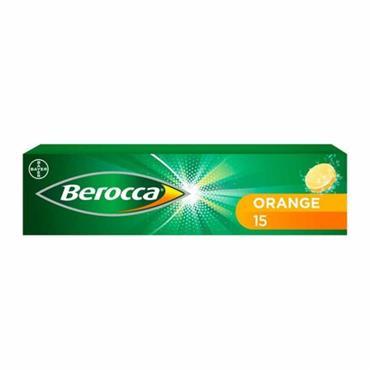 BEROCCA ENERGY ORANGE EFFERVESCENT 15S