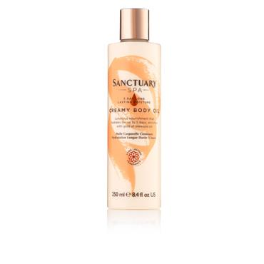 SANCTUARY SPA CREAMY BODY OIL 250ML