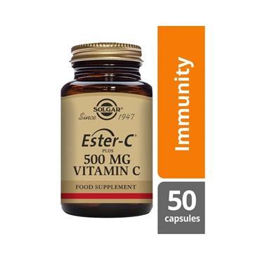 SOLGAR ESTER C 500MG V 50 E1038
