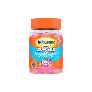 HALIBORANGE HALIBORANGE CALCIUM & VITAMIN D SOFTIES 30 PACK