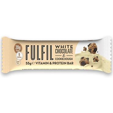 FULFIL WHITE CHOC N COOKIE DOUGH PROTEIN BAR 60G
